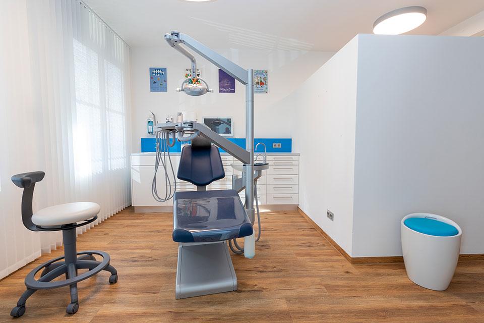 Praxis Dr. Sandra Holzberger - Behandlungsraum