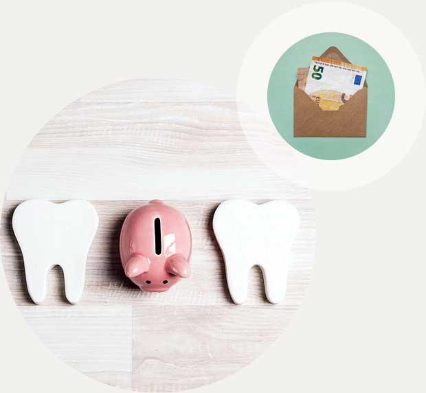 Kosten für die Zahnspange Kieferorthopädie